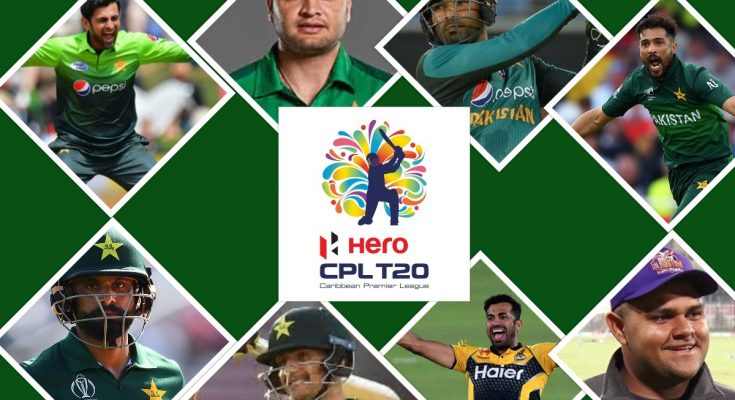Pakistan Players in CPL